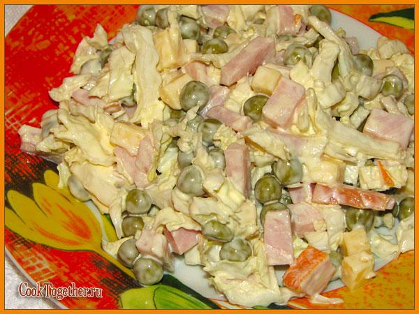 салат леди рецепт