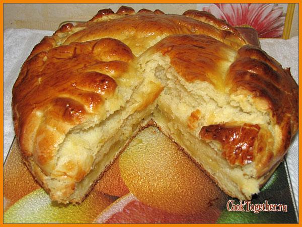 Пирог с осетриной рецепт самые вкусные