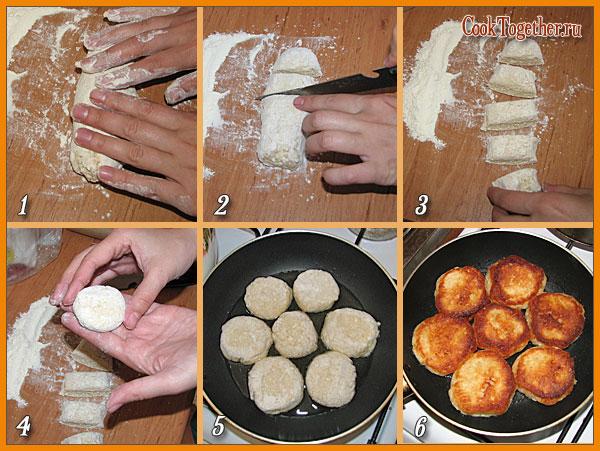 Сырники рецепт приготовления с фото