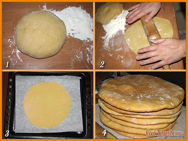 Корж на торт рецепт с пошагово в домашних условиях