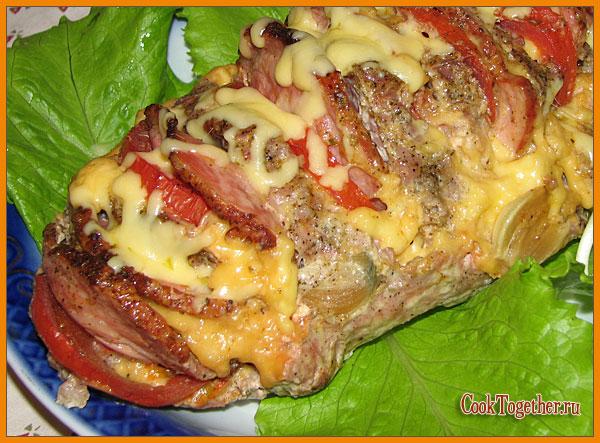 Свиная шейка запеченная с картофелем в духовке в фольге рецепт